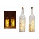 Glass Bottle Winter Forest 5er Illuminazione a Led
