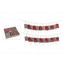 Advent calendar 320cm bag: 10x13cm made of textile