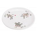 piatti alce decorazione ceramica bianca (peso / al