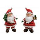 Mikołaj z polistyrenu czerwonego 2- razy mieszany