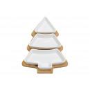 Set iniziale Albero di Natale 3 scodelle in porcel