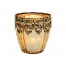 Decorazione lanterna marocchina in vetro, metallo