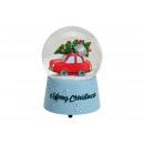 Carillon / pupazzo di neve Christmas car Merry Chr