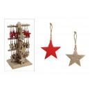 Stella del gancio di Natale in Display Stander fro