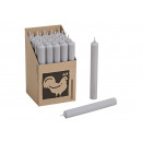 Colore della candela: grigio B / H / T) 2x18x2cm