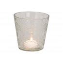Lanterna di vetro trasparente (L / H / P) 10x10x10
