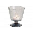 Lanterna, calice con rombo in vetro Transpa