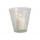 Crystal Lustre Glass Lamp Transparent (B