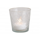 Crystal Lustre Glass Lamp Transparent (B