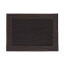 Tovaglietta in plastica marrone scuro, B45 x H30