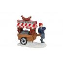 Miniatűr Christmas ábrák kolbászok állapotban poli