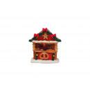 Miniatűr Christmas ábrák perecet állapotban poli,