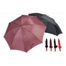 Großhandel Regenschirme:-Jumbo-Partner Schirm sortiert, 130 cm