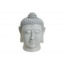 testa di Buddha in grigio da Magnesia, B33 x H48 c