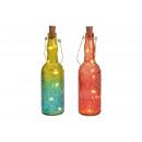 Bouteille en verre 5er LED Cork Fairy Lights Color