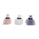 wholesale Sunglasses: Chick with sunglasses, feather decor in ...