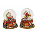 Music box / assorted globe Nikolaus from Poly asso