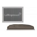 cuscino preferito cuscino grigio, (B / H
