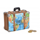 wholesale Gifts & Stationery: Money Box Suitcase Map Travel The World from Ker