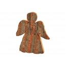 Angelo corteccia di legno natura (B / H / D) 19x23