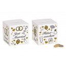 wholesale Gifts & Stationery: Money Box Dice Honeymoon, Just Married from Ke