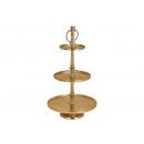 3 warstwowy stojak do przechowywania metalu Gold (