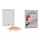 wholesale Pictures & Frames: Picture frame wooden guestbook white 81er set