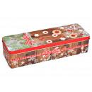 nagyker Dekoráció: Tin karácsonyi sütik dekoráció fém színes (B /