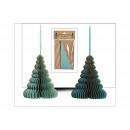 groothandel Woondecoratie: Hanger boom honingraat met goud glitter van ...