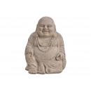 Buddha , fortunato Buddha argilla Brown (B / H / T