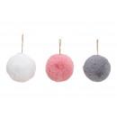 palla Trailer, farcito da poliestere colore rosa /