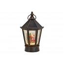 Lanterna Nicholas con illuminazione, musica, glitt