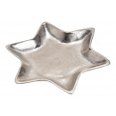 piatti Stella realizzata in alluminio argento (L /