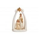 Presepe in porcellana Oro (B / H / D) 12x20x7cm