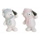 nagyker Játékok: Poli Fehér Medve, Glitter 2 szer szortírozott kisz