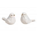 hurtownia Artykuly drogeryjne & kosmetyki: Porcelanowy ptak biały, złoty 2- razy mieszany , (