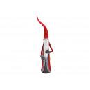 Feltro Santa, Pelliccia sintetica, Metallo rosso (
