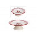 piatti a piedi Decorazioni in ceramica con gnomo n