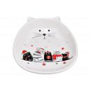 piatti Natale piatti Decor bianco ceramica (B / H