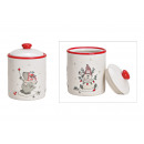 Decor Alce Stagno Bianco Ceramica (B / H / D) 10x1