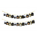 wholesale Home & Living: Advent calendar pouch 10x12cm in textile black