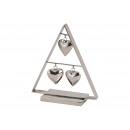 hurtownia Bizuteria & zegarki: Display Drzewo z zawieszką serca wykonane z metalo