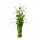 wholesale Artificial Flowers: Grass bush with Cosmea 67cm H made of plastic Gree