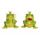 Frog Prince Poly Green 2- volte assortito , (B / H