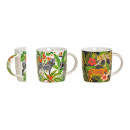 Mug Jungle Animals Motifs Leopard, Zebra from Po