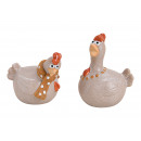Ceramiczny Ceramiczny Kurczak 2- razy mieszany , (
