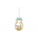 Appendiabiti Easter Egg Easter Bunny Decor Legno M