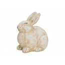wholesale Gifts & Stationery: Bunny made of white clay (B / H / D) 21x24x15cm