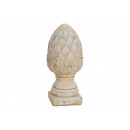 wholesale Gifts & Stationery: Lotus made of white clay (B / H / D) 12x26x12cm