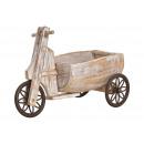 Carro triciclo in legno (B / H / D) 14x26x35cm